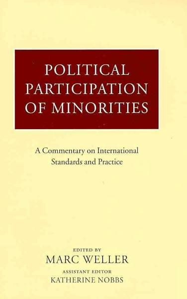 Political Participation of Minorities PDF