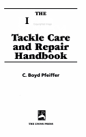 The Field   Stream Tackle Care and Repair Handbook PDF