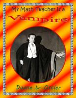 My Math Teacher is a Vampire PDF
