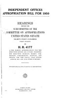 Independent Offices Appropriations for 1951 PDF