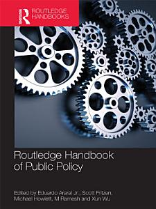 Routledge Handbook of Public Policy PDF