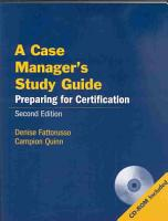 A Case Manager s Study Guide PDF