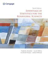 Essentials of Statistics for the Behavioral Sciences PDF