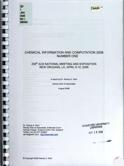 Chemical Information and Computation PDF
