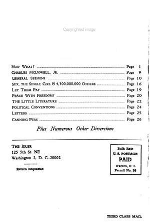 The Idler PDF