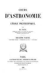 Cours d'astronomie de l'École polytechnique: Partie2