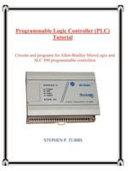 Programmable Logic Controller  PLC  Tutorial PDF