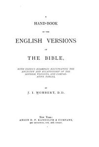 A Hand book of the English Versions of the Bible PDF