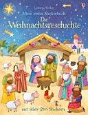 Mein erstes Stickerbuch  Die Weihnachtsgeschichte PDF