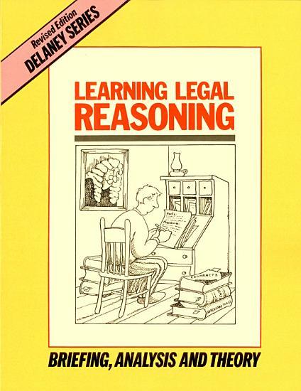 Learning Legal Reasoning PDF