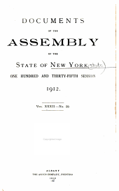 Documents of the Assembly of the State of New York: Volume 32