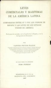 Leyes comerciales y marítimas de la América latina: De los comerciantes y de los actos de comercio