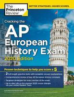 Cracking the AP European History Exam  2020 Edition PDF