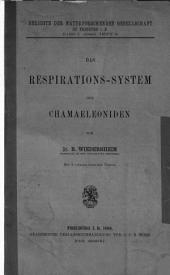 Das Respirations-System der Chamäleoniden
