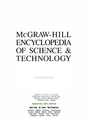 McGraw Hill Encyclopedia of Science   Technology Volume 4