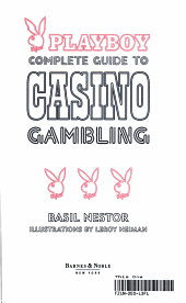 Playboy Complete Guide to Casino Gambling