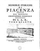 MEMORIE STORICHE DI PIACENZA: Volume 4