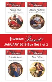 Harlequin Presents January 2016 - Box Set 1 of 2: The Queen's New Year Secret\Theseus Discovers His Heir\Awakening the Ravensdale Heiress\The Marriage He Must Keep
