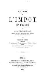 Histoire de l'impôt en France