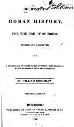 Goldsmith S Roman History Book PDF