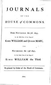 Journals of the House of Commons: Volume 11