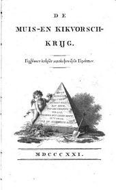De Muis- en Kikvorschkrijg. (Homerus nagezongen.) [By W. Bilderdijk.]