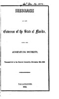 A Journal of the Proceedings of the House of Representatives of the     General Assembly of the State of Florida  at Its     Session PDF