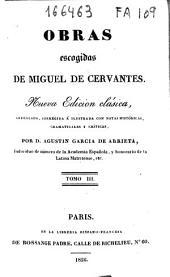 Obras escogidas de Miguel de Cervantes: Ingenioso hidalgo don Quijote de la Mancha