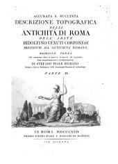 Accurata e succinta descrizione topografica delle antichitá di Roma: Volume 2