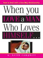 When You Love a Man Who Loves Himself PDF