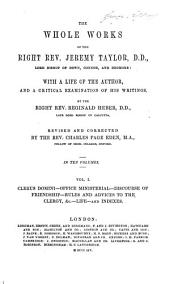 The Whole Works of the Right Rev. Jeremy Taylor, D.D., Lord Bishop of Down, Connor, and Dromore: Volume 5