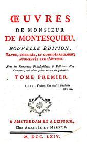 Oeuvres de Monsieur de Montesquieu