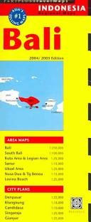 Bali Travel Map 5th Edition