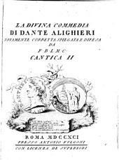 La Divina Commedia: ¬Il purgatorio, Volume 2
