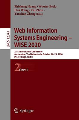 Web Information Systems Engineering – WISE 2020