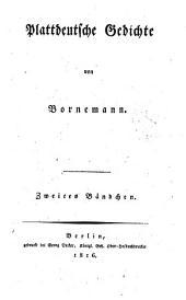 Plattdeutsche Gedichte: 2. Bändchen, Band 2