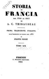 Storia di Francia dal 1799 al 1815: Volume 20