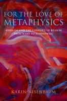 For the Love of Metaphysics PDF