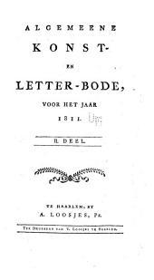 Algemeene konst- en letterbode: Volume 2