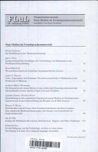Neue Medien im Fremdsprachenunterricht PDF