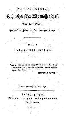 Geschichten Schweizerischer Eidgenossenschaft  fortges  von Robert Glutz Blozheim  Johann Jakob Hottinger  Ludwig Vuliemin und Karl Monnard   PDF