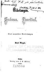 Nibelungen. Gudrun. Parcival