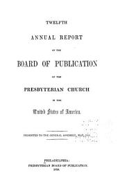 Annual Reports of the Boards to the General Assembly: Volume 1850