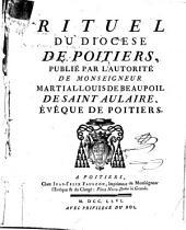 Rituel du diocèse de Poitiers