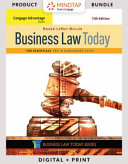 Business Law Today  the Essentials   Mindtap Business Law  1 term Access PDF