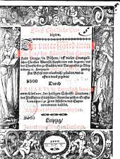 Fünff Christliche Predigten. In vnterschiedenen Kirchen, der Königlichen Hauptstadt Praga, in Böhem, vff vieler Evangelischer Christen Wuntsch, suppliciren vnd begeren, und des Churfürsten zu Sachsen, vnd Burggrasen zu Magdeburg, [et]c. Hertzogen CHRISTIANI II. gnedigsten Befehl vnd erlaubnüß, gehalten, vnd in offnen druck gegeben