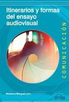 Itinerarios y formas del ensayo audiovisual PDF