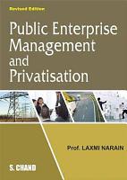 Public Enterprise Management and Privatisation PDF