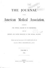 Journal of the American Medical Association: Volume 5