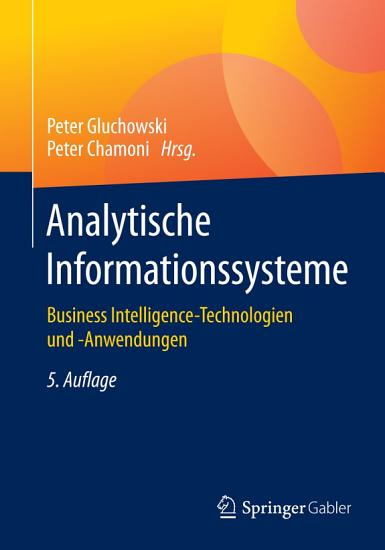 Analytische Informationssysteme PDF
